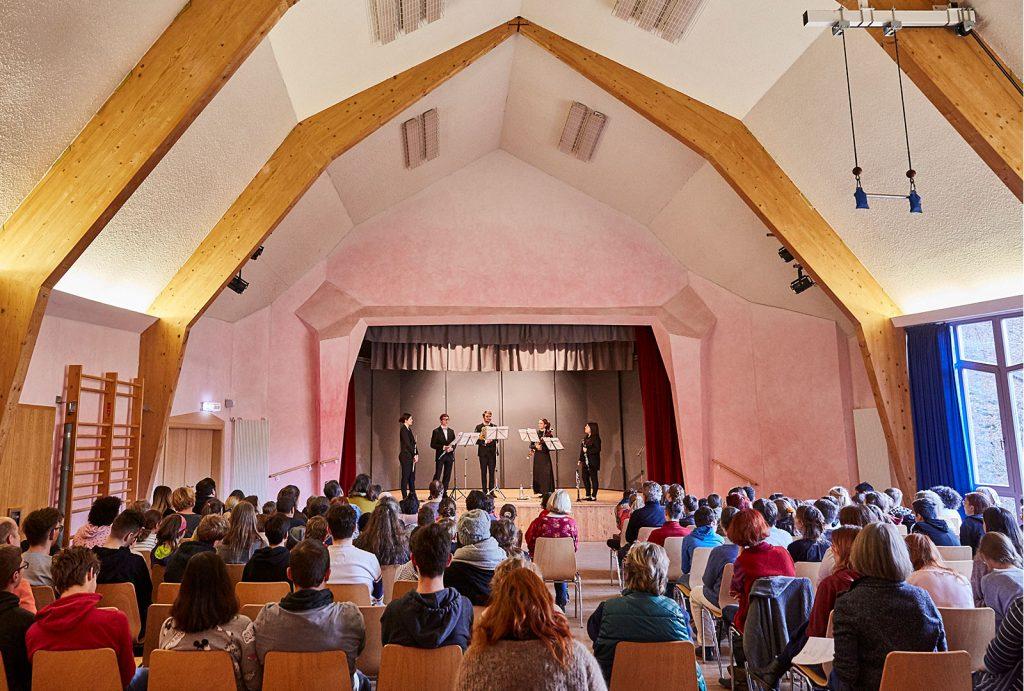 Musikprojekte in der Christophorus-Schule